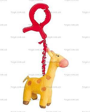 Погремушка мягкая «Жираф», HBE072