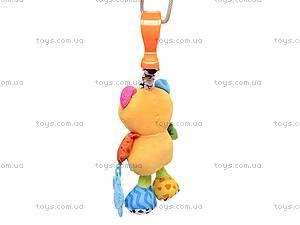Погремушка мягкая «Медведь», 8011, игрушки