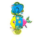 Погремушка мягкая «Рыбка с улиткой», BM-42388