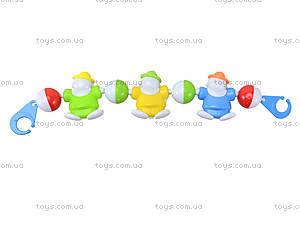 Погремушка на коляску для детей «Клоуны», 6362B, фото