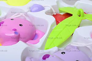 Заводная погремушка на кроватку «Милые животные», D058, фото