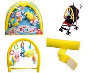 Погремушка с мягкими игрушками, 624, фото