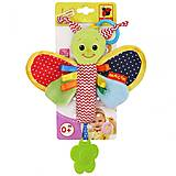 Погремушка-палочка «Бабочка», МС 010302-01, фото