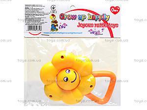 Детская погремушка «Цветок», 777-50, игрушки