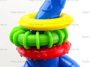 Погремушка для малышей «Жирафик», U968T, фото