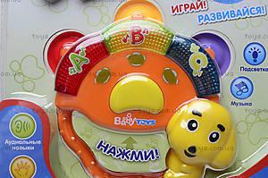 Музыкальная погремушка «Веселый бубен», 0954, фото