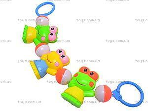 Погремушка-подвеска «Жабки», 6336, игрушки