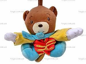 Погремушка-подвеска «Медведь», 2260-1, купить