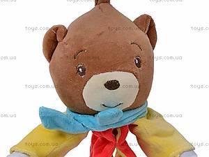 Погремушка-подвеска «Медведь», 2260-1, отзывы