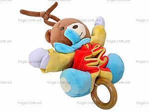 Погремушка-подвеска «Медведь», 2260-1, цена