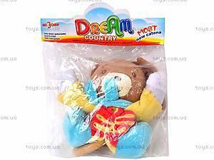 Погремушка-подвеска «Медведь», 2260-1, игрушки