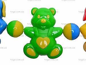 Погремушка-подвеска «Медвежонок и собачка», 01557, купить