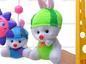 Погремушка-подвеска «Счастливый малыш», 601-5, игрушки