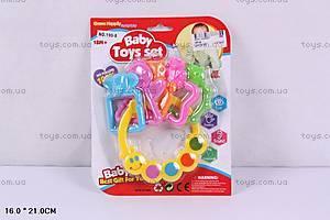 Погремушка-прорезыватель Baby Toy Set, 190-8
