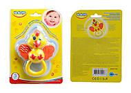 Погремушка-прорезыватель Цыпленок, BeBeLino, 57105