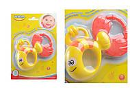 Погремушка-прорезыватель для малышей «Рыбка», 57107