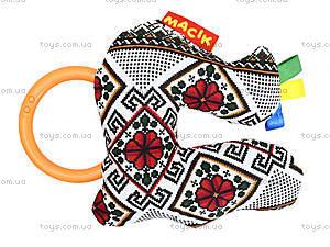 Погремушка «Птичка» серии «Этно-Эко», MK3103-04, купить