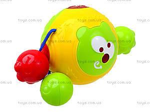 Детская погремушка со звуком «Облако заботы», 20617E, детские игрушки