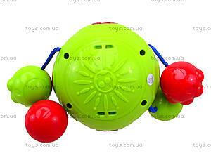 Детская погремушка со звуком «Облако заботы», 20617E, toys.com.ua