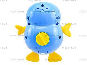 Погремушка со звуком «Пингвинчик», 20611E, фото