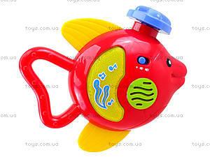 Погремушка со звуком «Рыбка», 20612E, купить