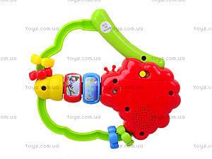 Музыкальная погремушка для малышей, 20624E, игрушки