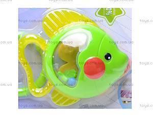 Погремушка «Рыбка», 0609-53, купить