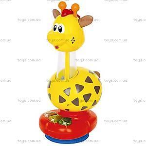 Погремушка с присоской «Жираф», 029900