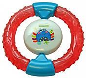 Погремушка с прорезывателем «Краб» Baby team, 8401-2, отзывы