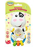 Погремушка Веселое животное Коровка (укр. упаковка), BeBeLino (174930), 57071, купить