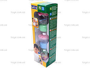 Погремушка «Веселые шарики», 0280, игрушки