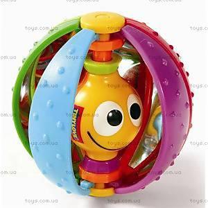 Погремушка из пластика «Радужный мяч», 1100700458