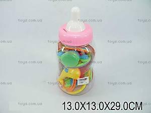 Погремушки для малышей в бутылочке, 2308-2