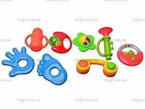 Погремушки для малышей в наборе, 208-15