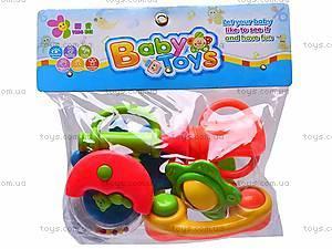 Погремушки для малышей в наборе, 208-15, фото