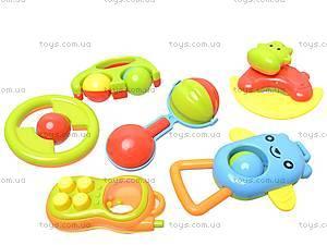 Погремушки в наборе, 6 штук, BM3306B, магазин игрушек