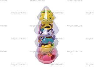 Погремушки в ручку, в бутылочке, 326-428, детский