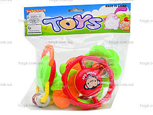 Игровые погремушки для детей, 5 штук, 6118, фото