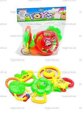 Игровые погремушки для детей, 5 штук, 6118