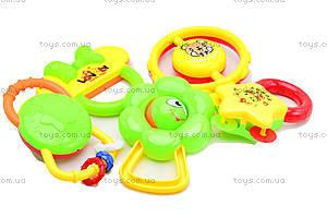 Игровые погремушки для детей, 5 штук, 6118, цена