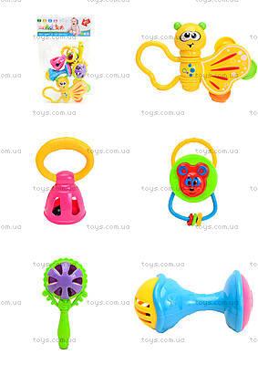 Набор погремушек для детей, 5 штук, 8351A-12