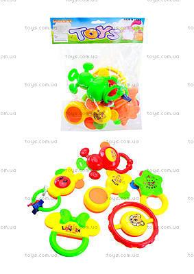 Набор погремушек для детей 6 штук, 6115