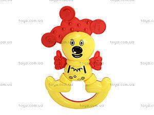Набор погремушек «Зоопарк», 6140, детские игрушки