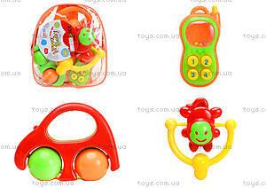 Набор детских погремушек для малышей , BM3240A