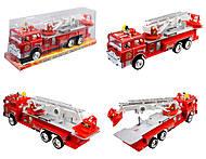 Пожарная машина инерционная «101», 101