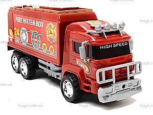 Игрушечная пожарная машина Fire, 128-34, купить