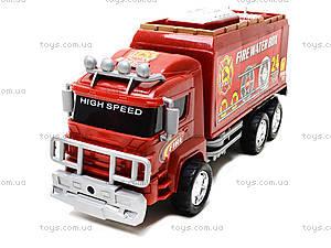 Игрушечная пожарная машина Fire, 128-34, фото