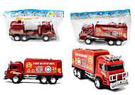 Игрушечная пожарная машина Fire, 128-34, доставка