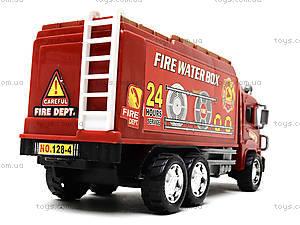 Игрушечная пожарная машина Fire, 128-34, цена