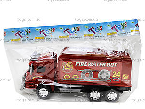 Игрушечная пожарная машина Fire, 128-34, детские игрушки